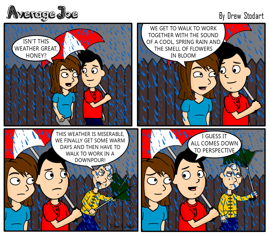Average Joe 29 – Perspective