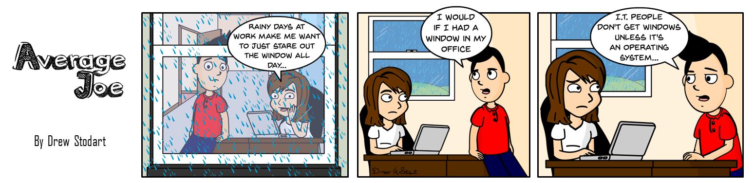 Average Joe 30 – Rainy Days