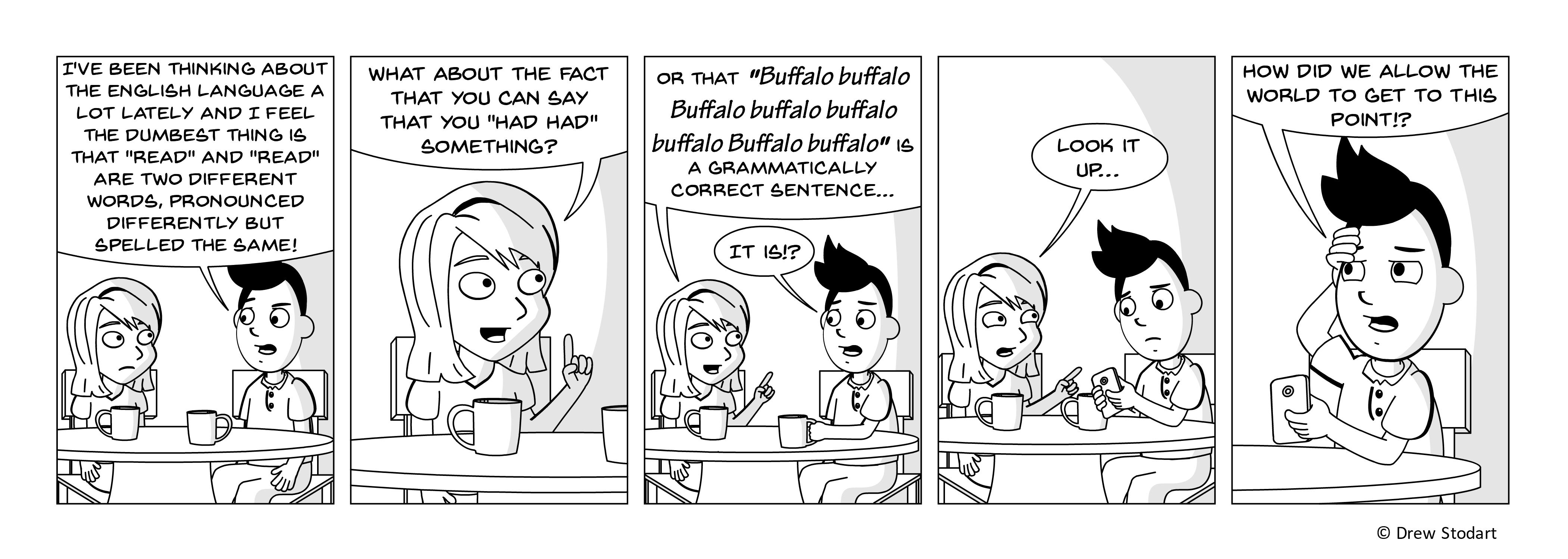 Average Joe 54 – Buffalo buffalo Buffalo buffalo buffalo buffalo Buffalo buffalo