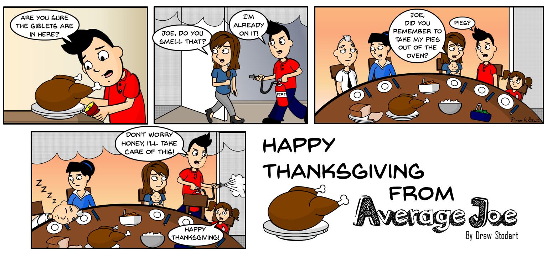 Average Joe 32 – Thanksgiving
