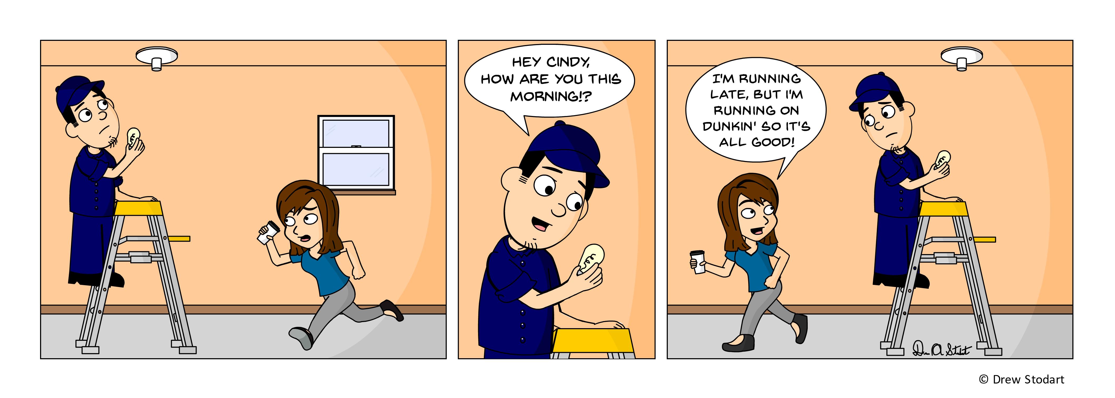 Average Joe 48 – America Runs On Dunkin!