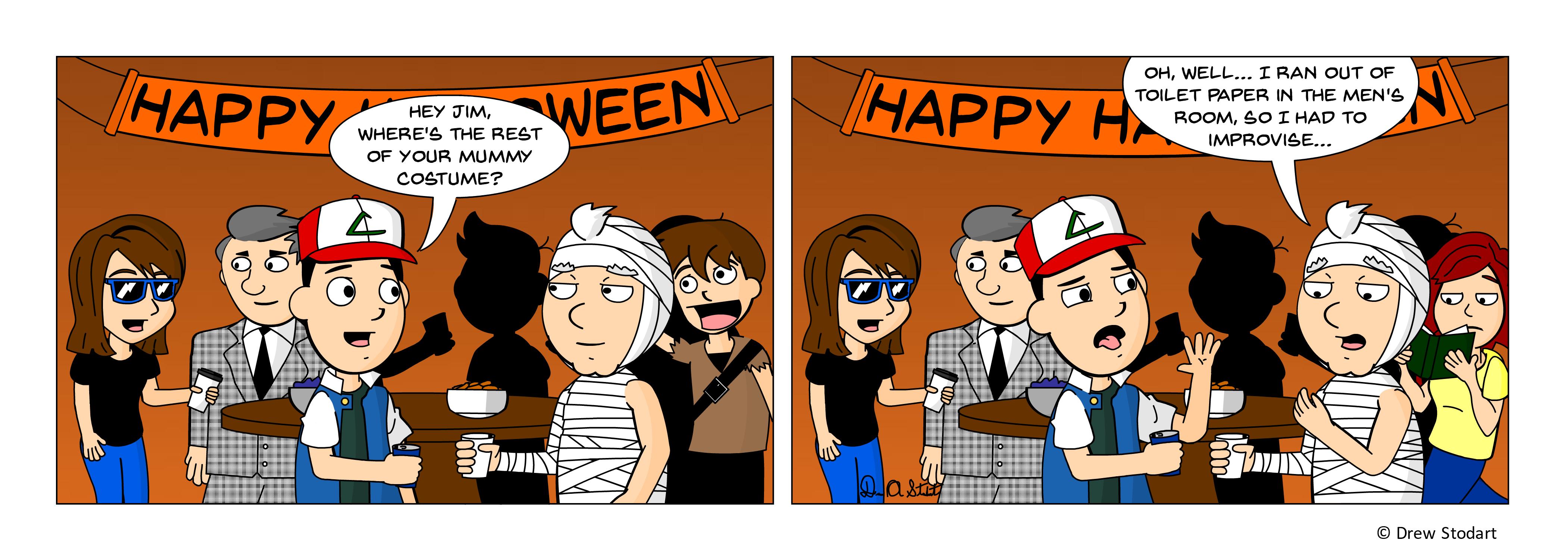 Average Joe 50 – Halloween Party